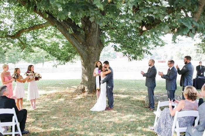 Outdoor Wedding in Philadephia