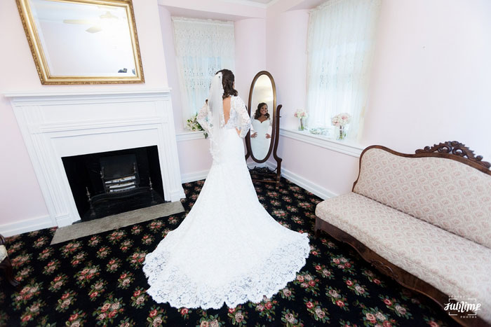 Bridal Suite at the Springton Manor Farm