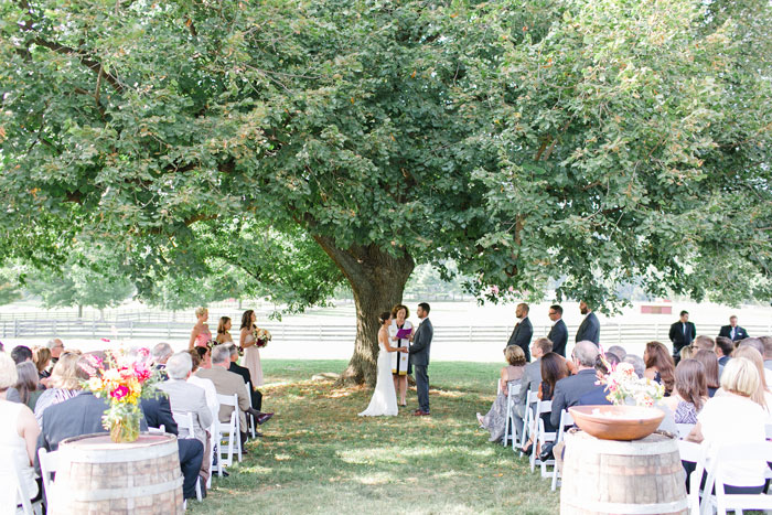 Host Ceremony and Reception at the Springton Manor Farm Philadelphia