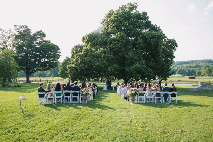 Outdoor Wedding at the Linden Tree