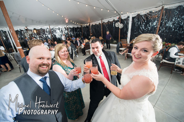 Custom Wedding Cocktails at Springton Manor Farm