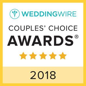 Wedding Wire Couples' Choice Award 2018
