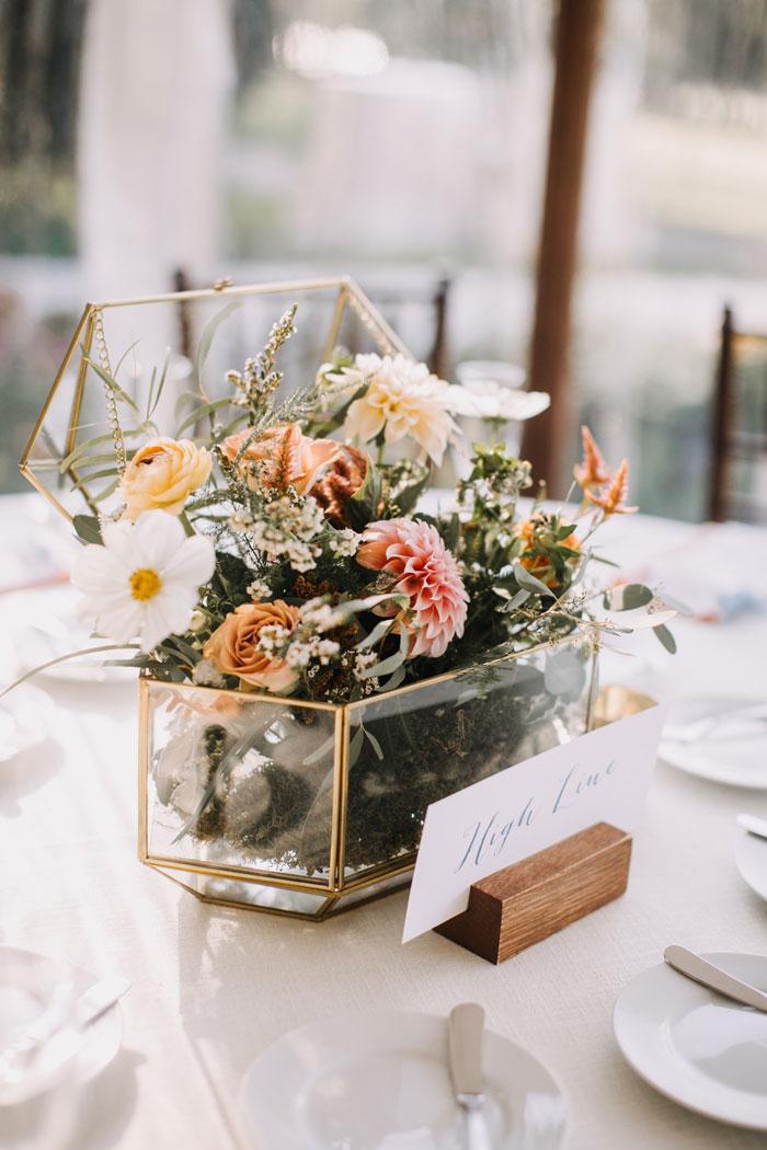 Vintage Floral Wedding