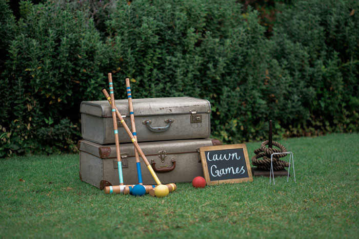 Croquet and Ring Toss Games