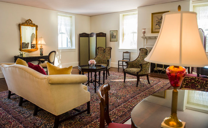 Bridal Suite at Springton Manor Farm