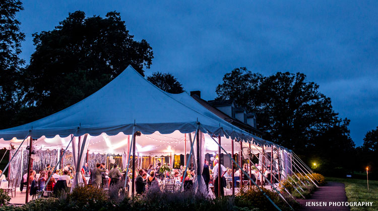 Tented Wedding Reception at Springton Manor Farm