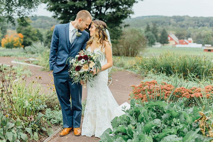 Jessica & Richard's Elegant Autumn Wedding