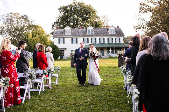 Picturesque Outdoor Wedding Ceremony Locations in Philadelphia